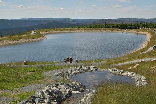 Artificial Pond, Plateau, Quiet Zone, Landscape
