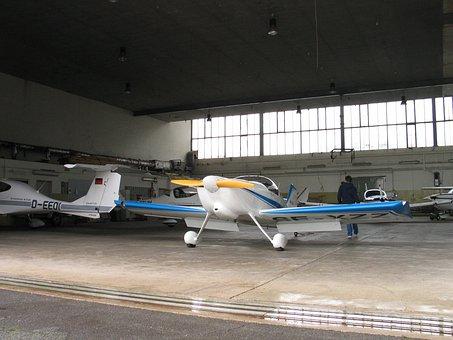 Hangar, Aircraft, M17, Flyer, Flying, Propeller