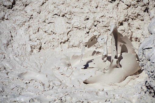 Mudpot, Thermal Feature, Bubble, Yellowstone