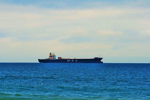 High Seas, Open Sea, Offshore Zone, Ship