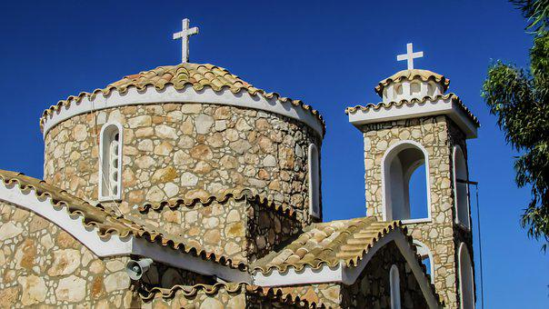 Cyprus, Protaras, Prophet Elias, Church, Orthodox