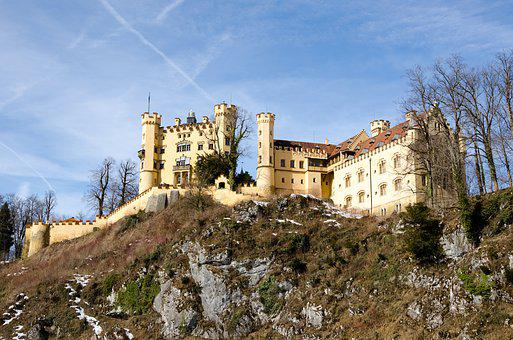 Germany, Bavaria, Castle, Places Of Interest
