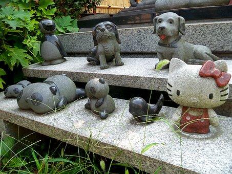 Japan, Tokyo, Tsurumi, Hello, Kitty, Sculpture