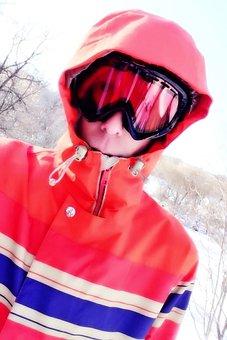 Winter, Sport, Snowboard, Ski, Cold, Mountain, Outdoor