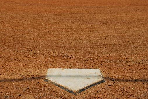 Home, Plate, Ball, Baseball, Field, Sport, Game
