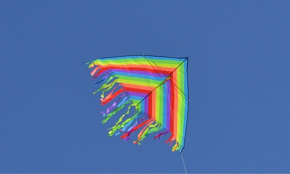 Kite, Outdoor, Summer, Sky, Fly, Leisure, Playing, Fun