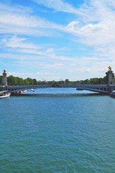 Its, Paris, River, Bridge, France, Water, Travel