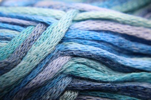 Wool, Bändchengarn, Hand Labor, Knit, Crochet, Thread