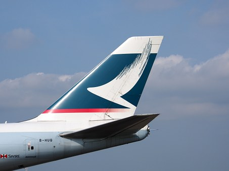 Boeing 747, Fin, Cathay Pacific, Jumbo Jet, Aircraft