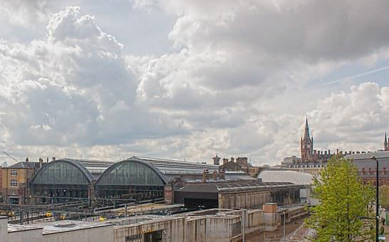 Kings Cross, Station, Trains, Architecture, Travel