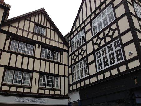 Cambridge, Tudor Houses, Architecture