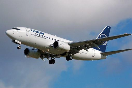Plane, Aircraft, Flight, Boeing 737-700, Tarom, Airline