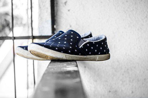 Canvas Shoes, Footwear, Pair Of Shoes, Shoes, Sneakers