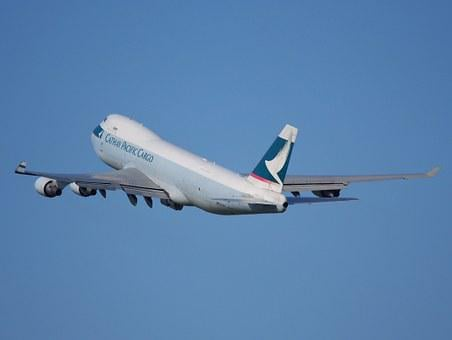 Boeing 747, Cathay Pacific, Jumbo Jet, Take Off