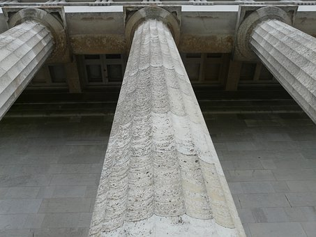 Columnar, Walhalla, Memorial, Hall Of The Fallen