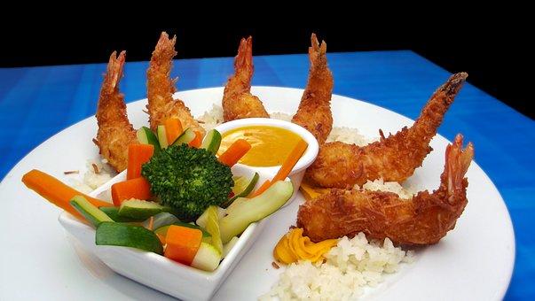 Shrimp, Appetizer, Seafood, Delicious, Crustacean
