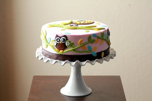 Cakes, Baby Shower, Owls, Designs, Decorated, Pink
