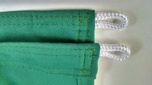 Stuff, Sewing, Flag, Finish, Detail, Brazil, Green, Vdr