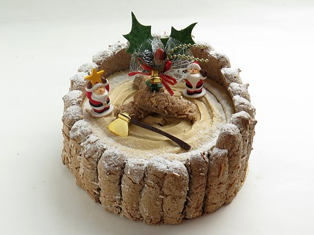 Cake, Christmas, Bell, ヒイラキ, Food, Candy, Sugar, Suites
