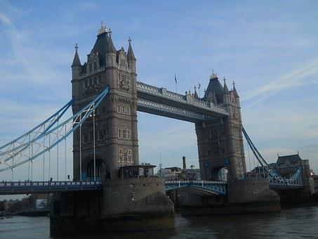 Tower Brigde, Drawbridge, Towers, Fortress