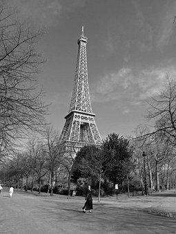 Eiffel Tower, Paris, France, Landmark, Famous, Iconic