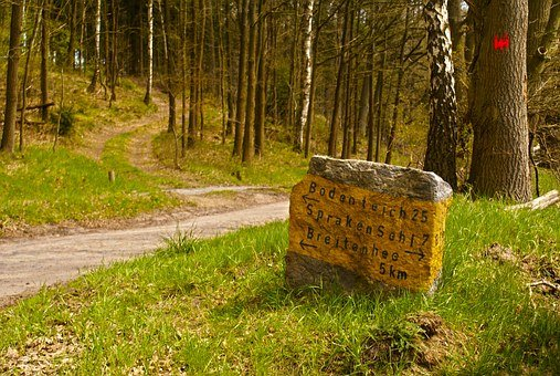 Away, Directory, Hiking, Bodenteich, Information Boards