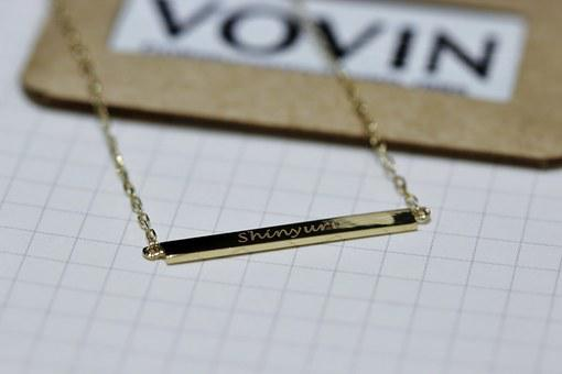 Jewelry, Personalization, This Mokguil, Initials, Word