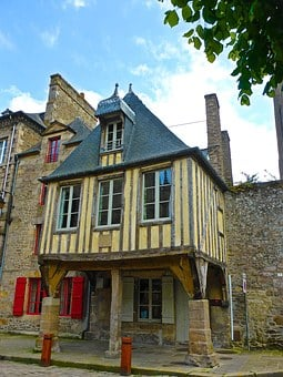 Half Timbered, Medieval, Building, Architecture, Wood