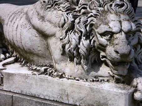 Monument, The Statue, Ornament, Sculpture, Lion, Animal