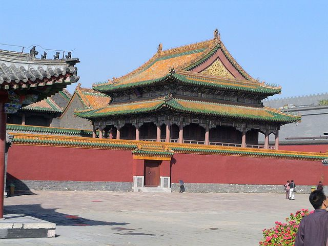 Shenyang, Liaoning, China, Temple, Palace, Famous