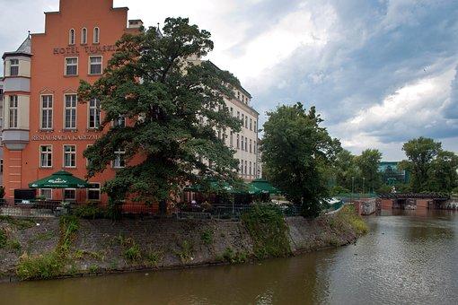 Wroclaw, Or, Odra, Poland, Silesia, Wrocław, River