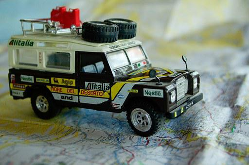 Land Rover, Rally Raid, Travel, 4x4, Miniature, Map