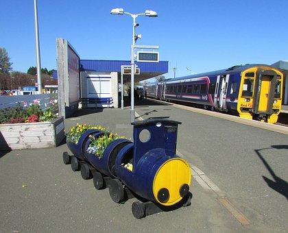 Scotland, Kirkcaldy, Station, Railway, Children Toy