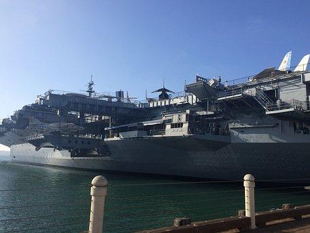 Ship, Us Marine, Marine, Ocean, Sea, Boat, Navy