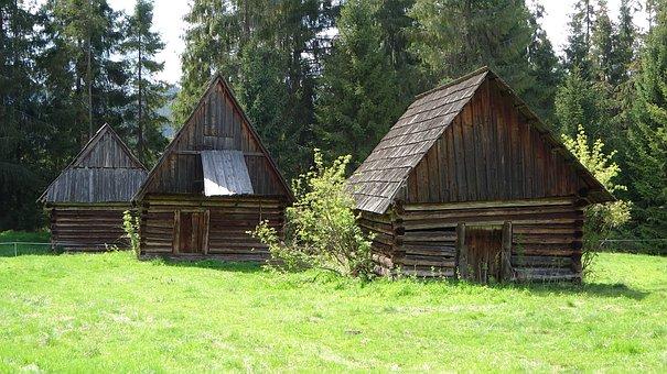 Jurgów, Poland, Shepherd's Shelters, Monument