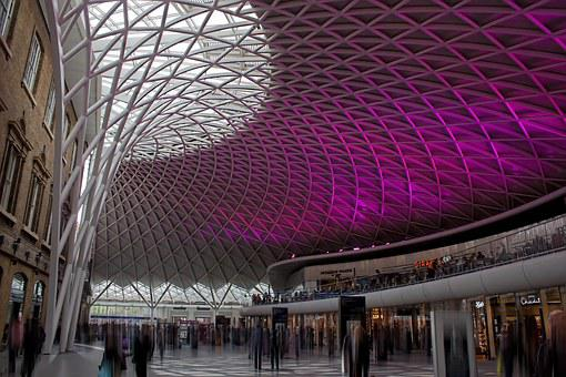 Station, Kings Cross, Architecture, Railway