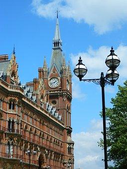King's Cross, Railway Station, Tower, Facade