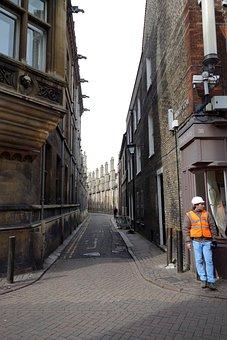 Cambridge, Trinity Lane, England, Uk, United Kingdom