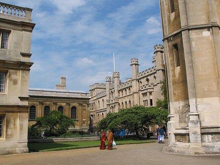 Colleges, Cambridge, University, Architecture, Building