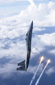 Air Force, Aircraft, Fighter Jet, Battle Hunter, Launch