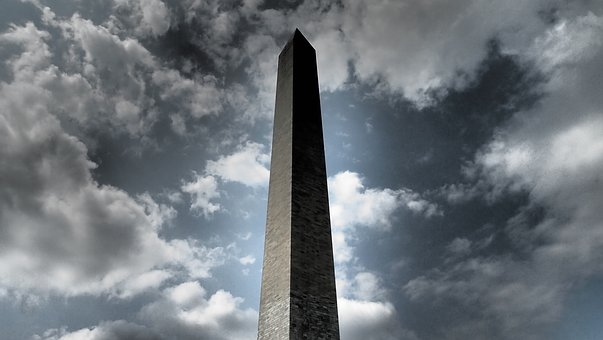 Monument, Washington, Washington Dc, America, Obelisk