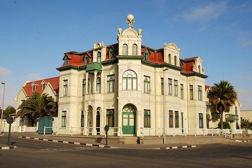 Art Nouveau, Swakopmund, Villa, Old, Architecture