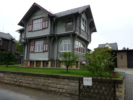 At Home, Building, Villa Old New, Holiday, Real Estate