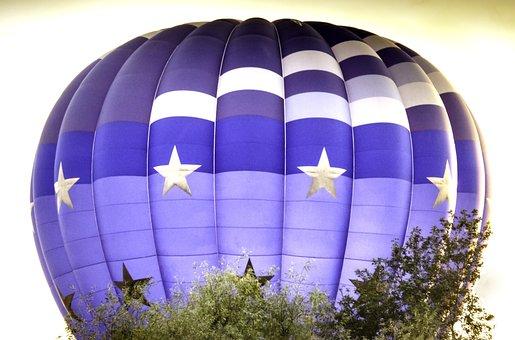 Heißluftbaloon, Baloon, Heissluftbaloone, Fly, Wind