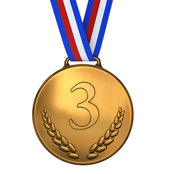 Medal, Bronze, Award, Championship, Competition
