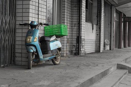 Car Battery, Delivery, Basket, Roadside