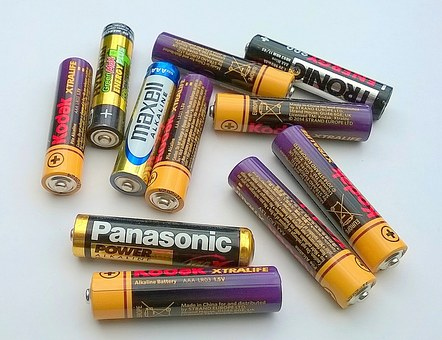 Batteries, Cells, Power, Energy, Charge, Electrical