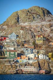 Battery, Newfoundland, St John's, Colorful Houses