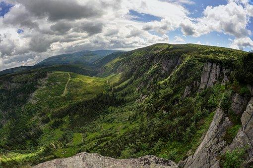 Czech Republic, The Giant Mountains, Nature, Mountains