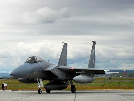 Airplane, Military, Usa, Air Force, F-15, Fighter, Jet